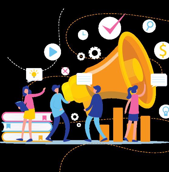 Agencia de publicidad y marketing digital OnMarketing Ideas en bogotá colombia asesoría estrategias digitales y diseño de publicidad para empresa y personas